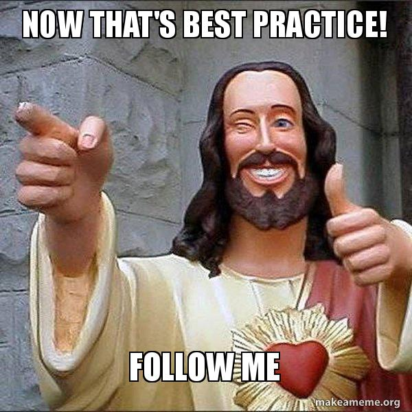 Super Jesus approves SEO best practice.